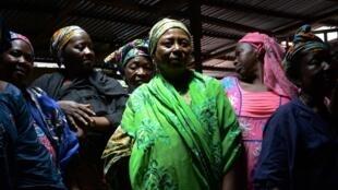 Des membres de l'Association des Victimes parents et amis du 28 septembre 2009 (AVIPA)