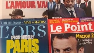 As revistas francesas desta semana.