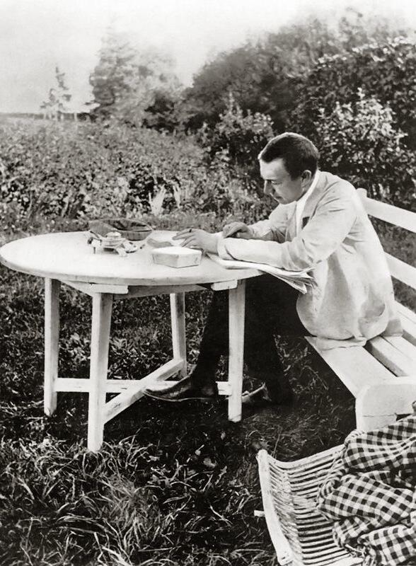 Nhạc sĩ Rachmaninoff (ảnh chụp 1910)
