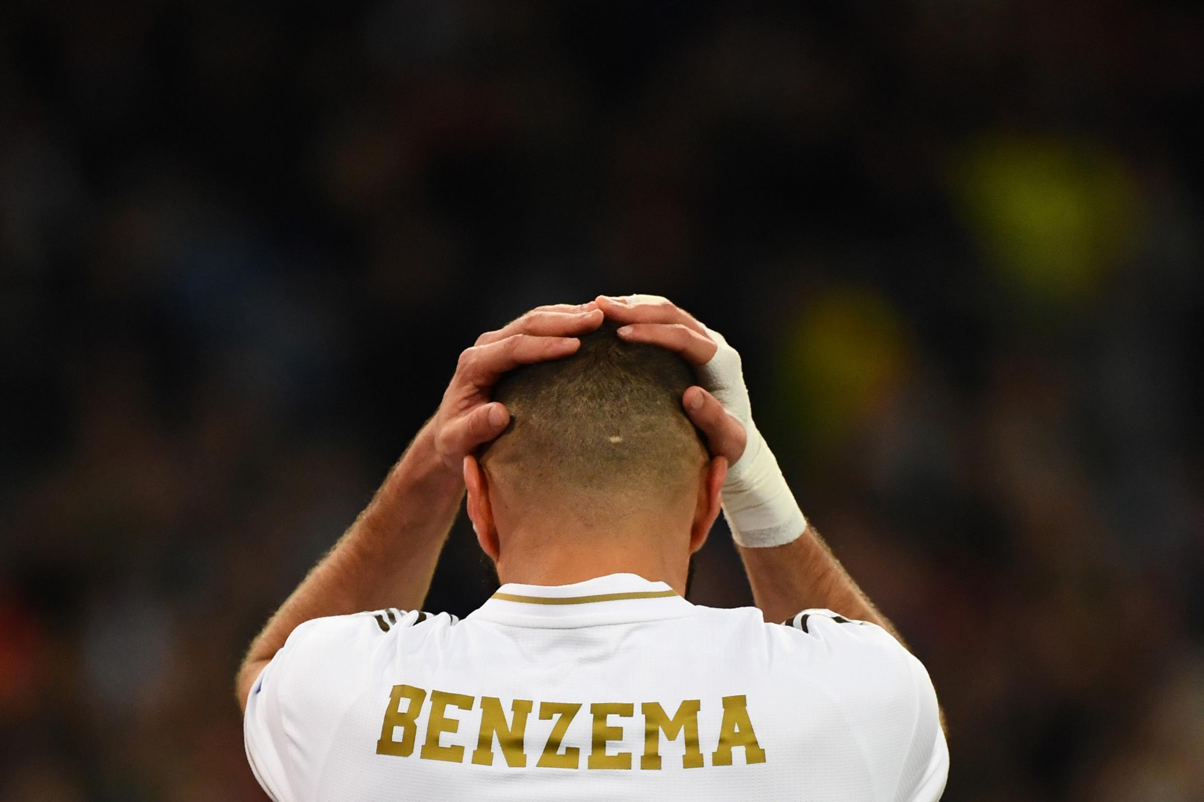 Karim Benzema, avançado francês do Real Madrid.