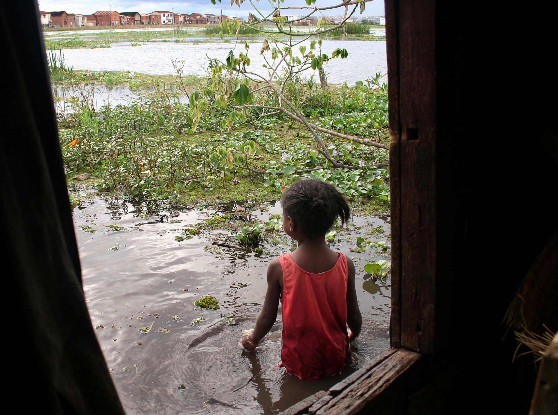 Image d'archive d'une précédente inondation à Antananarivo, Madagascar, en 2007.