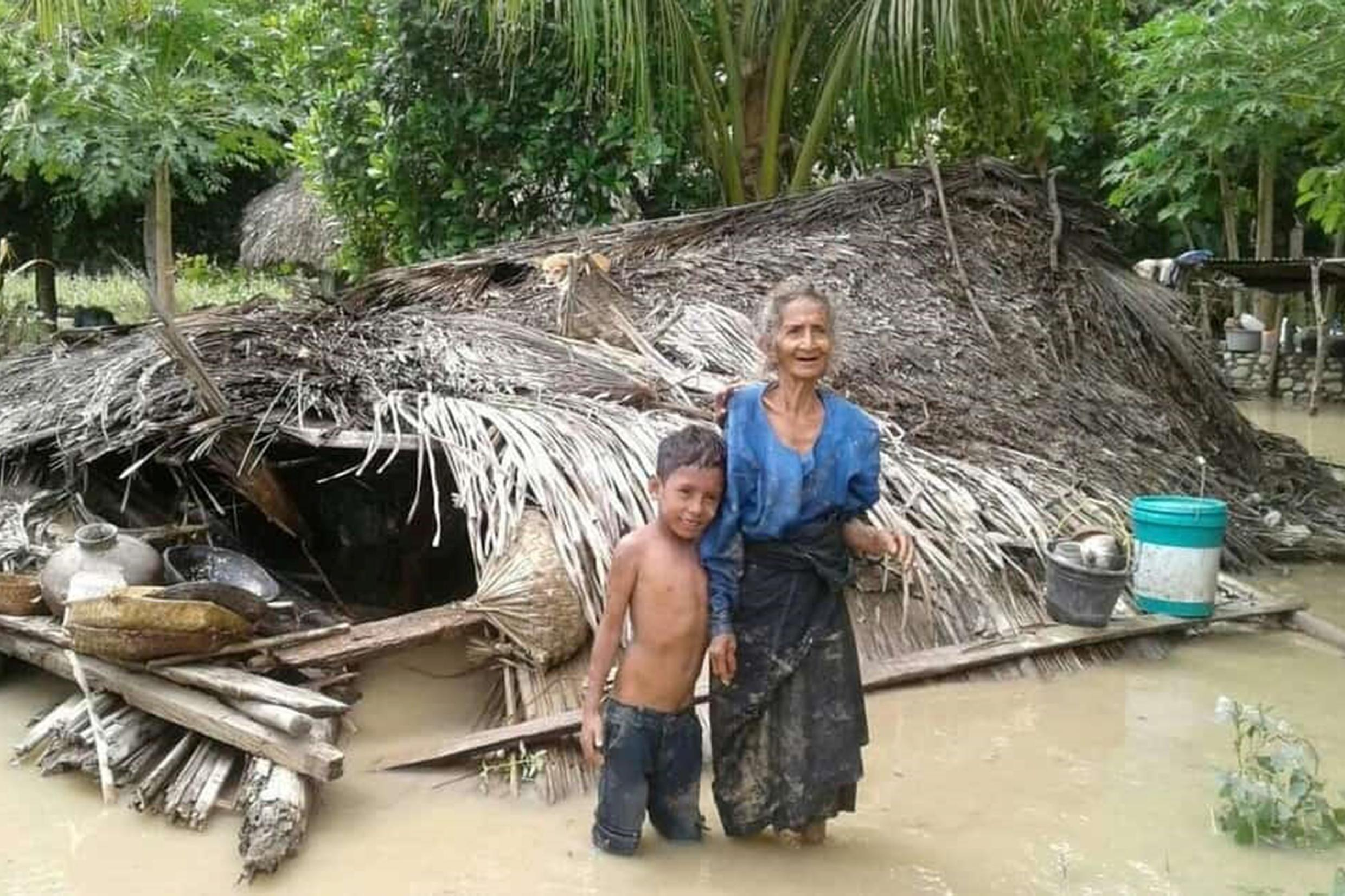 Floods sparked by torrential rain have wreaked havoc and destruction on islands stretching from Flores in Indonesia to East Timor, sending thousands fleeing into shelters