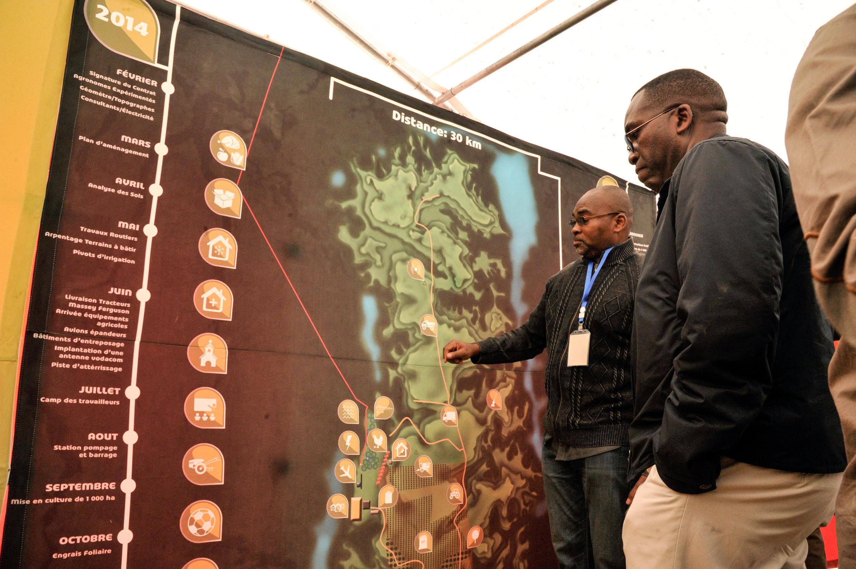RDC Congo - parc agro-industriel - Bukanga-Lonzo - Matata Ponyo