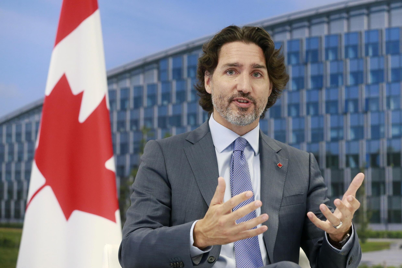 加拿大总理特鲁多资料图片
