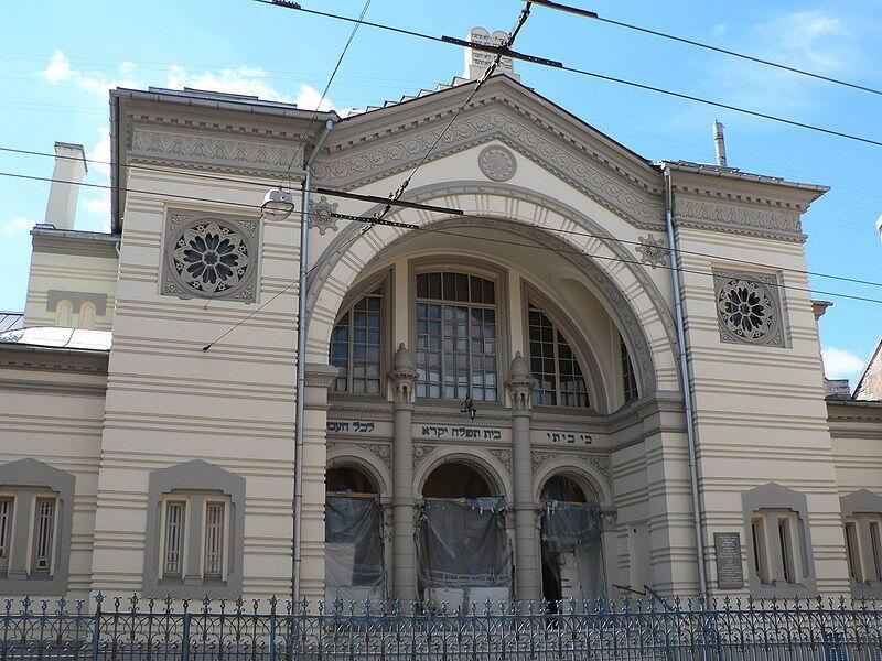 Здание вильнюсской синагоги