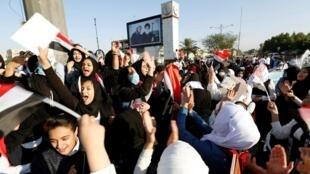 ادامه اعتراضات در بغداد، یکشنبه 17 نوامبر