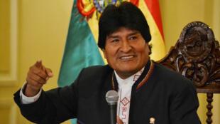 El presidente boliviano, Evo Morales.