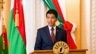 Madagascar President  Andry Rajoelina hopes to beat long time rival Marc Ravalomanana in legistive elections Monday