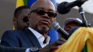 L'opposant gabonais et fondateur de l'Union nationale, André Mba Obame, décédé le 12 avril 2015.