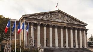 Trụ sở Quốc hội Pháp.