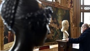 Part of US billionaire and art collector Christopher Forbes's private collection of Napoléon III artefacts