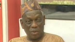 Albert Tévoédjéré, médiateur de la République du Bénin.