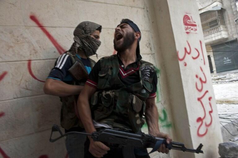 A Alep, des combattants de l'ASL (photo d'illustration).