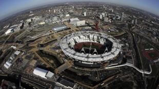 Олимпийский парк в Лондоне, 27 марта 2012 года