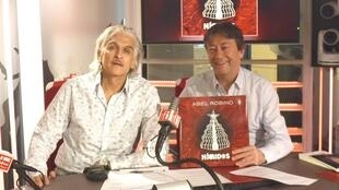 Abel Robino y Jordi Batallé en RFI