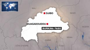 Djibo inapatikana Kaskazini mwa Burkina Faso.