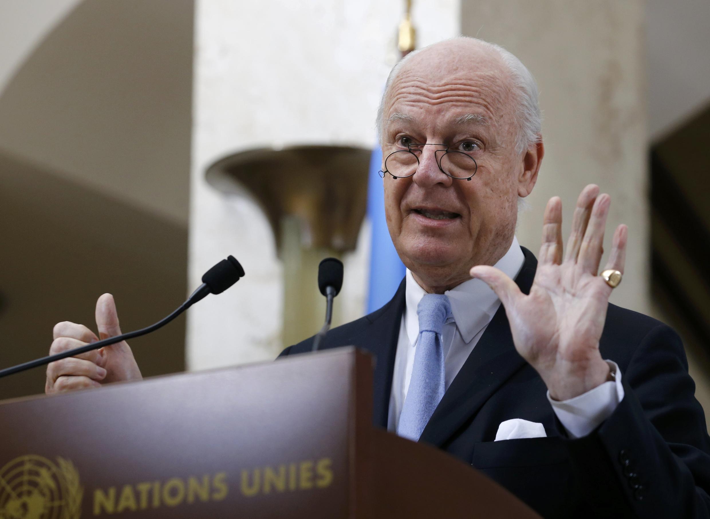 استفان دی میستورا، نماینده ویژه سازمان ملل متحد در زمینه بحران سوریه