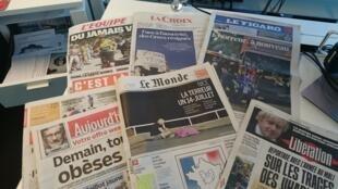 Diários franceses 15.07.2016