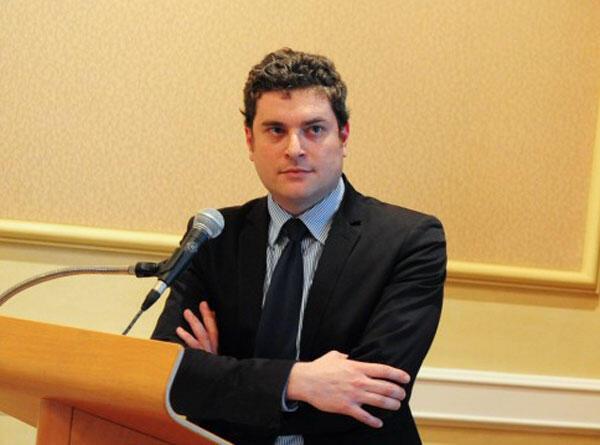 Florent Geel , responsable du bureau Afrique de la FIDH.