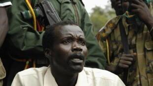 Une des rares apparitions de Joseph Kony aux médias. Ici, en 2006, au Soudan du Sud.
