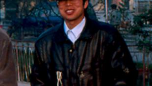 Ông Hoa Tiết Phong trước khi bị chính quyền Trung Quốc bắt