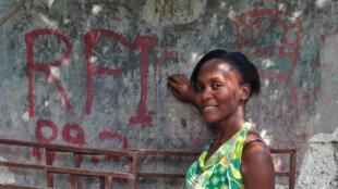 Nepthalie Calixte, jeune Haïtienne de 23 ans.