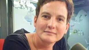 Christine Seghezzi en los estudios de RFI