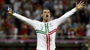 Le Portugais Cristiano Ronaldo.