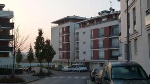 L'immeuble de la pension de famille Raymond Aron, à Massy Palaiseau, dans la banlieue sud de Paris.