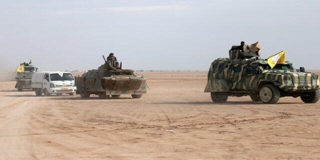نیروهای دموکراتیک سوریه متشکل از نیروهای کرد و عرب سوریه به دروازههای شهر الطبقه در شمال سوریه رسیدند.