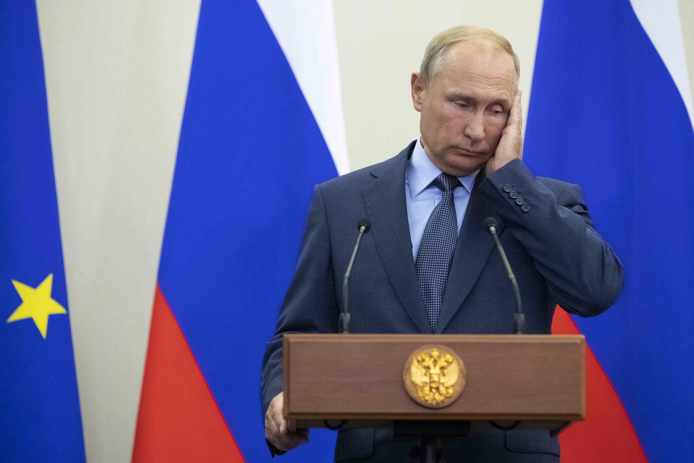 Путин назвал «бессмысленными и контрпродуктивными» американские санкции против России