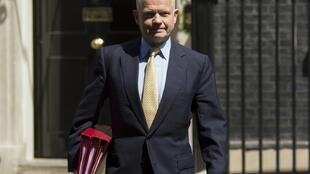 El ex canciller William Hague.