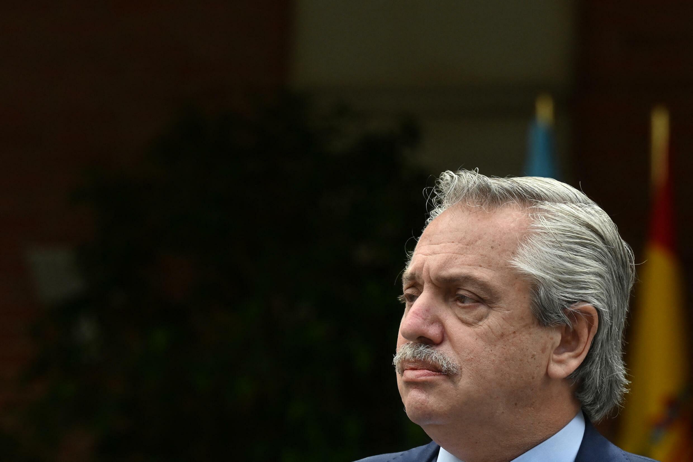 Le président argentin Alberto Fernández