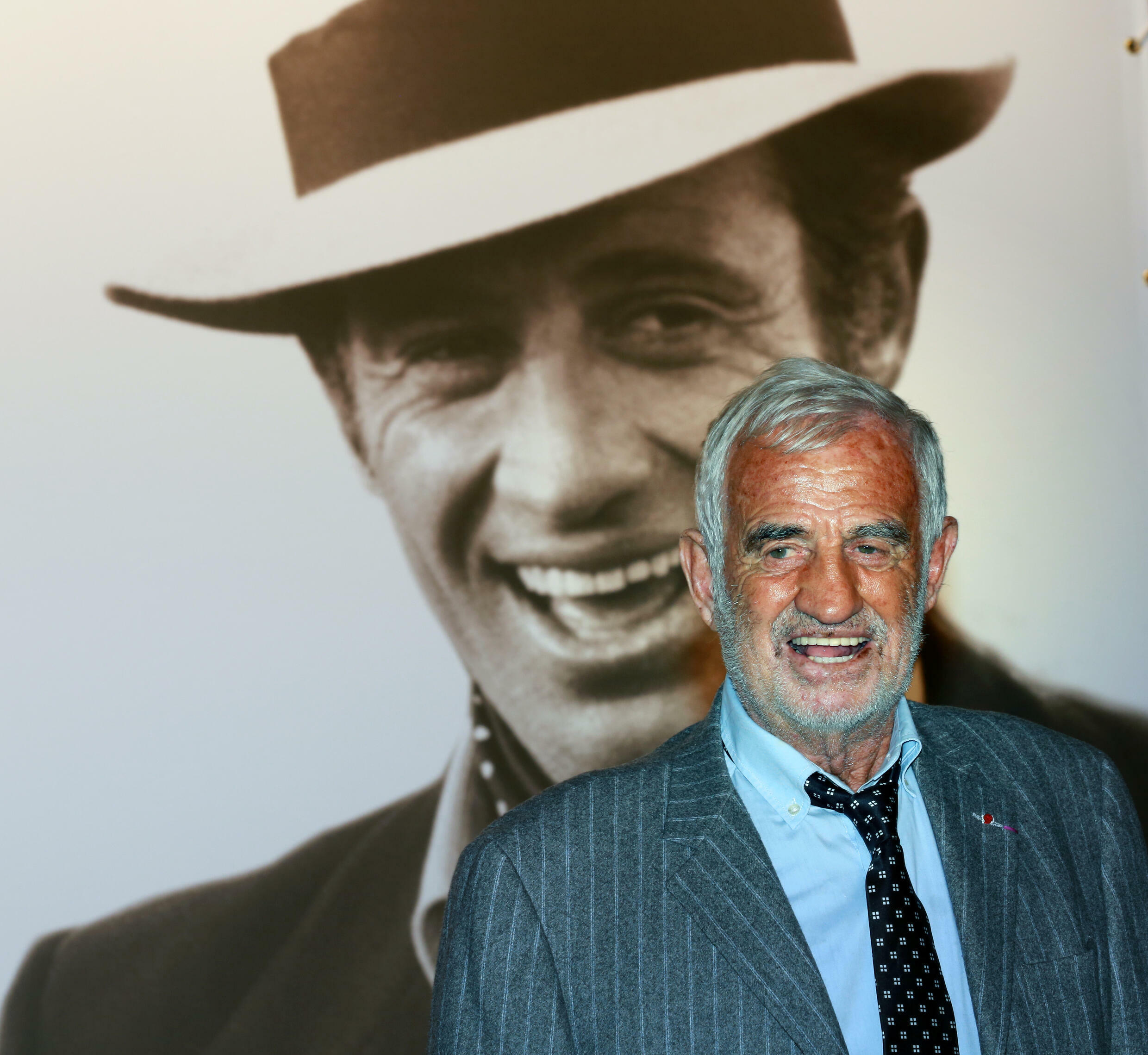 Jean-Paul Belmondo, pictured at a film festival in the French city of Lyon in 2013