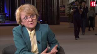 Danuta Maria Hübner, eurodiputada polaca del Partido Popular.