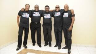 Le groupe de musique haïtien Tabou Combo.