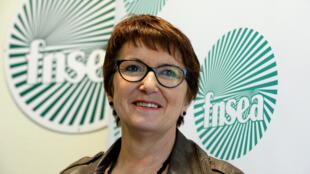La vice-présidente de la FNSEA, Christiane Lambert, doit succéder à Xavier Beulin à la tête du principal syndicat agricol français.