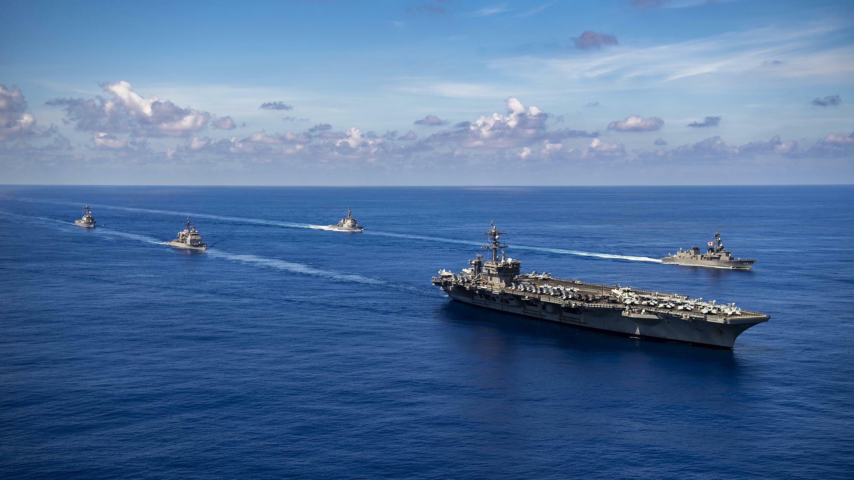 Pacifique - US - Japon - Marine - USS Carl Vinson