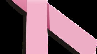 Dải ru-băng hồng, biểu tượng cho ý thức về bệnh ung thư vú.