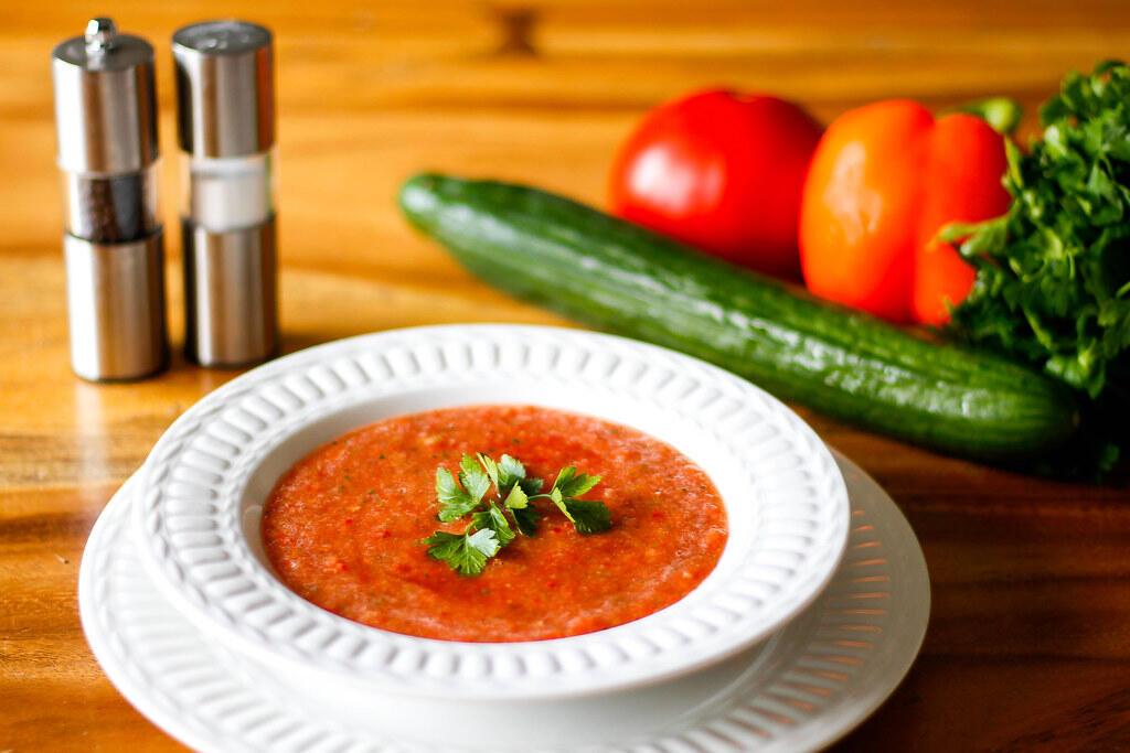 西班牙Gazpacho涼菜湯