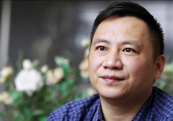 """""""89""""学生领袖之一的王丹资料图片"""