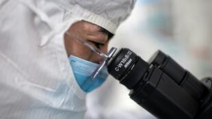 关于新冠肺炎病毒研究图片