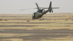 Helicóptero da operação Barkhane. (Ilustração)