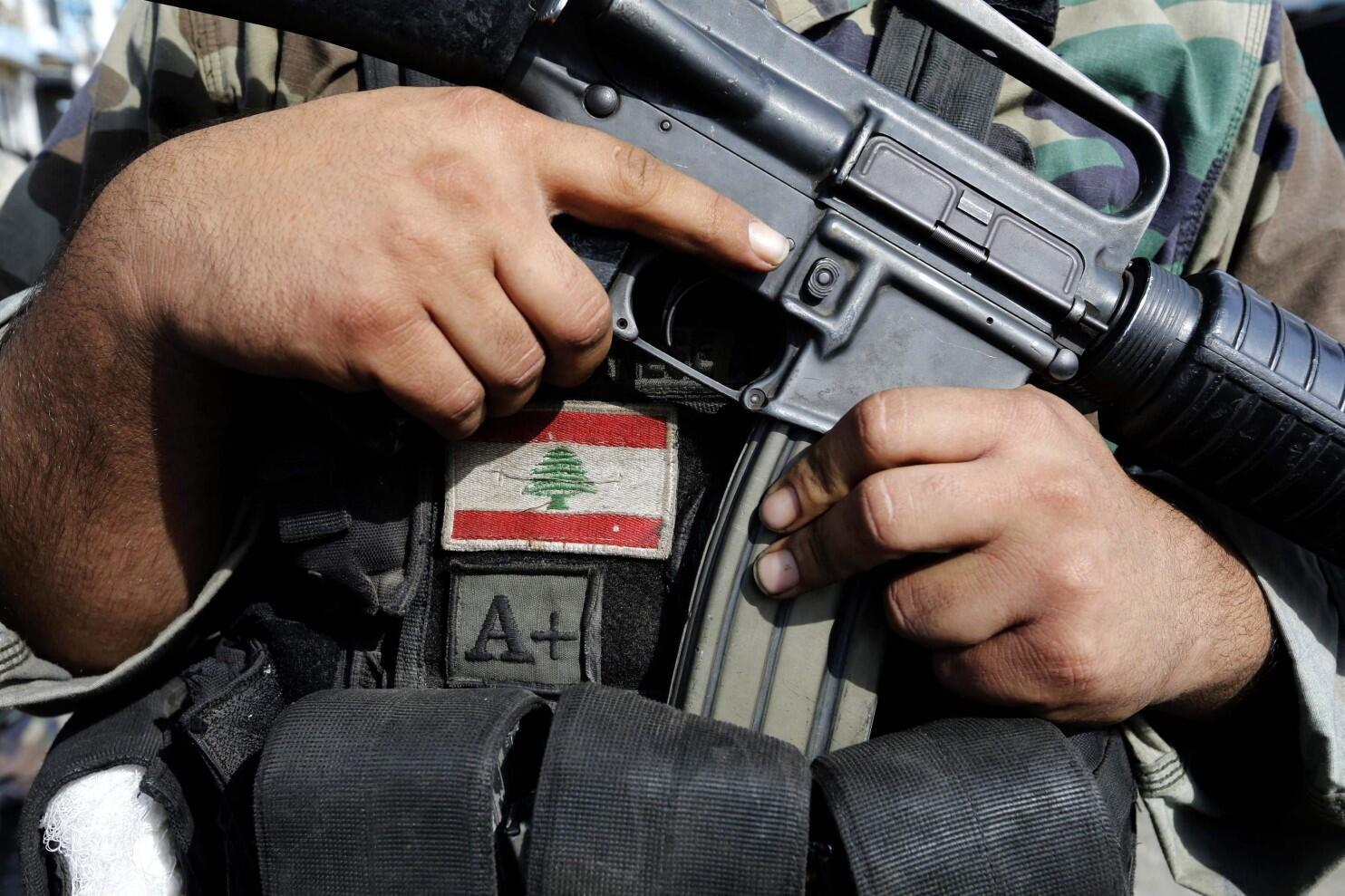 Солдат ливанской армии