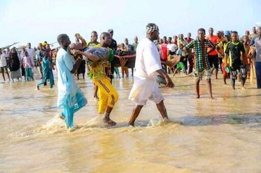 nigeria naufrage fleuve niger