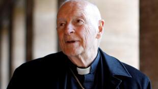 O ex-arcebispo americano Theodore McCarrick teria repassado milhares de dólares a líderes da Igreja Católica