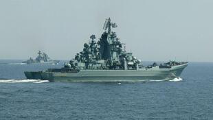 Navios russo serão enviados ao Mediterrâneo.
