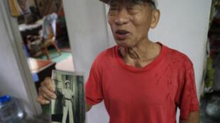 Tsan Jian-Ren, vétéran chinois à Taiwan.