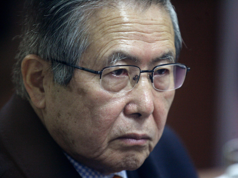 Alberto Fujimroi, l'ancien président qui a dirigé le pays d'une main de fer de 1990 à 2000.