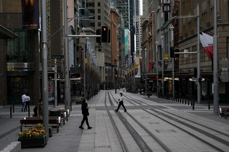 Sydney australie confinement coronavirus